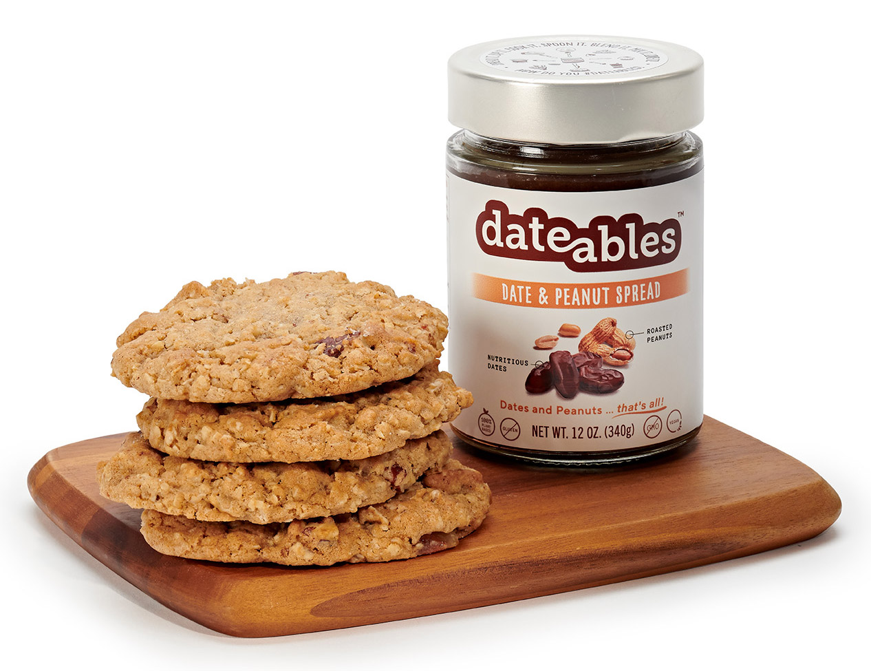 Dateables Oatmeal Cookies