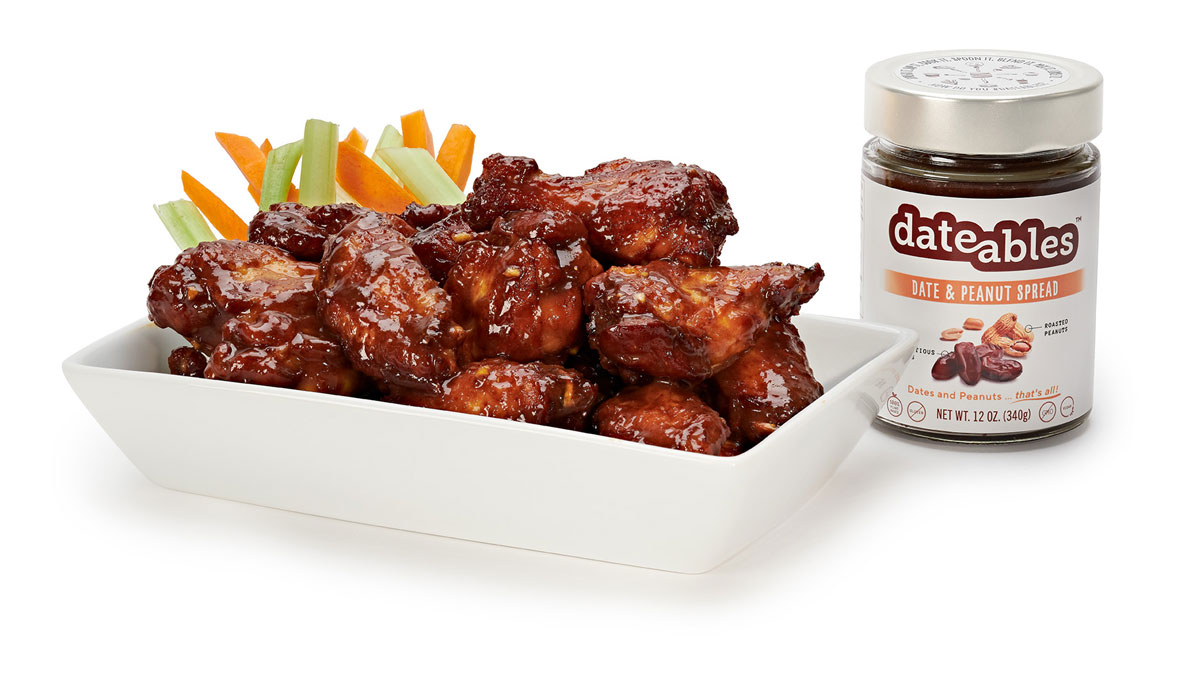 Dateables Peanut Date Chicken Wings